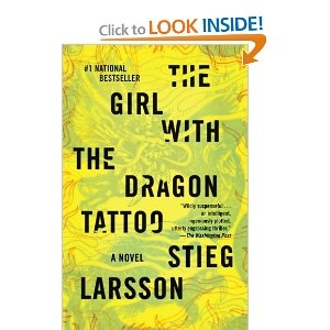The Girl With the Dragon Tattoo. Book 1-the best in the trilogy