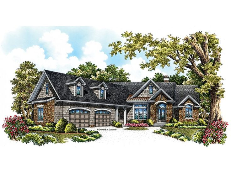 European House Plan With 1962 Square Feet And 3 Bedrooms From Dream Home Source House Plan