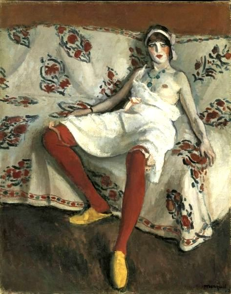 The red stockings, 1912 - Albert Marquet ______________________________ ♥♥♥ deniseweb.free.fr ♥♥♥