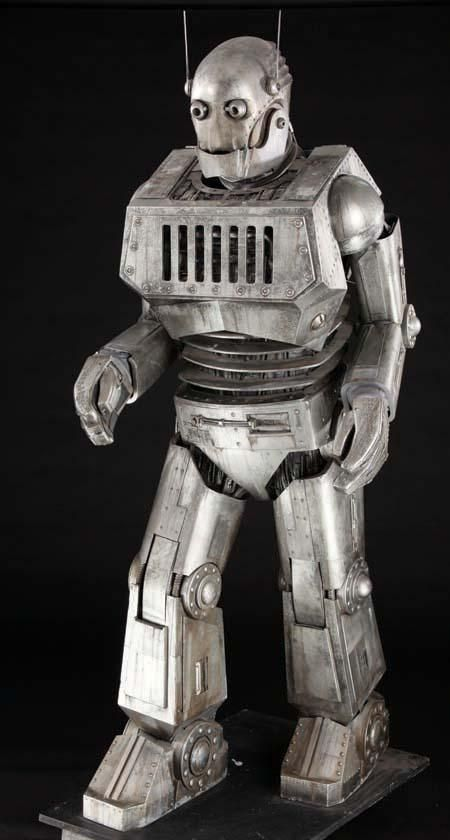 today's robots have come a long way, they are much more humanoid.