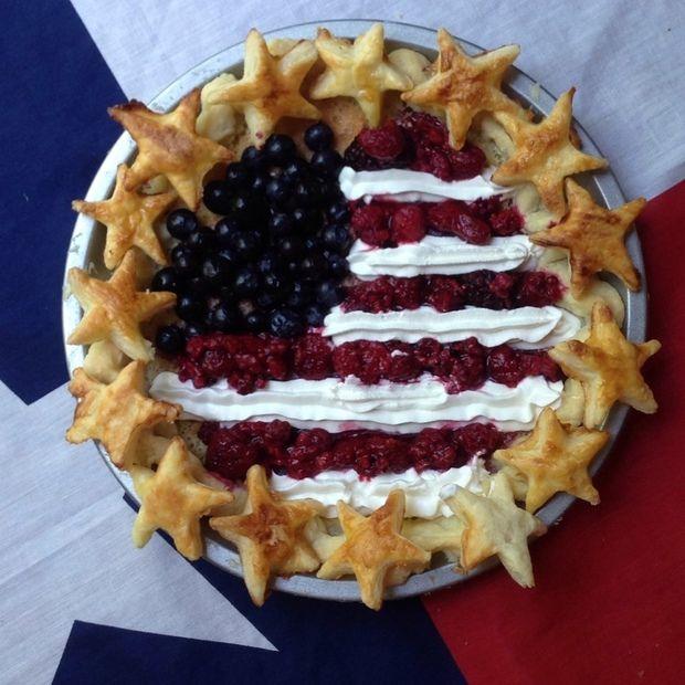 アメリカ独立記念日タルト