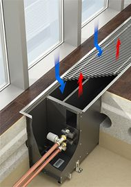 Встраиваемые в пол конвекторы с естественной конвекцией Ntherm Maxi пре дназначены для изоляции от холодного воздуха больших, доходящих до пола окон, а так же встраивания в подоконник. Конвекторы Ntherm Maxi характеризуются высокой теплопроизводительностью и используются в помещениях, где необходимо подать в зону остекления большое количество тепла, но нельзя использовать конвекторы с принудительной конвекцией. В конструкции конвектора Ntherm Maxi используется эффект повышения тепловой…