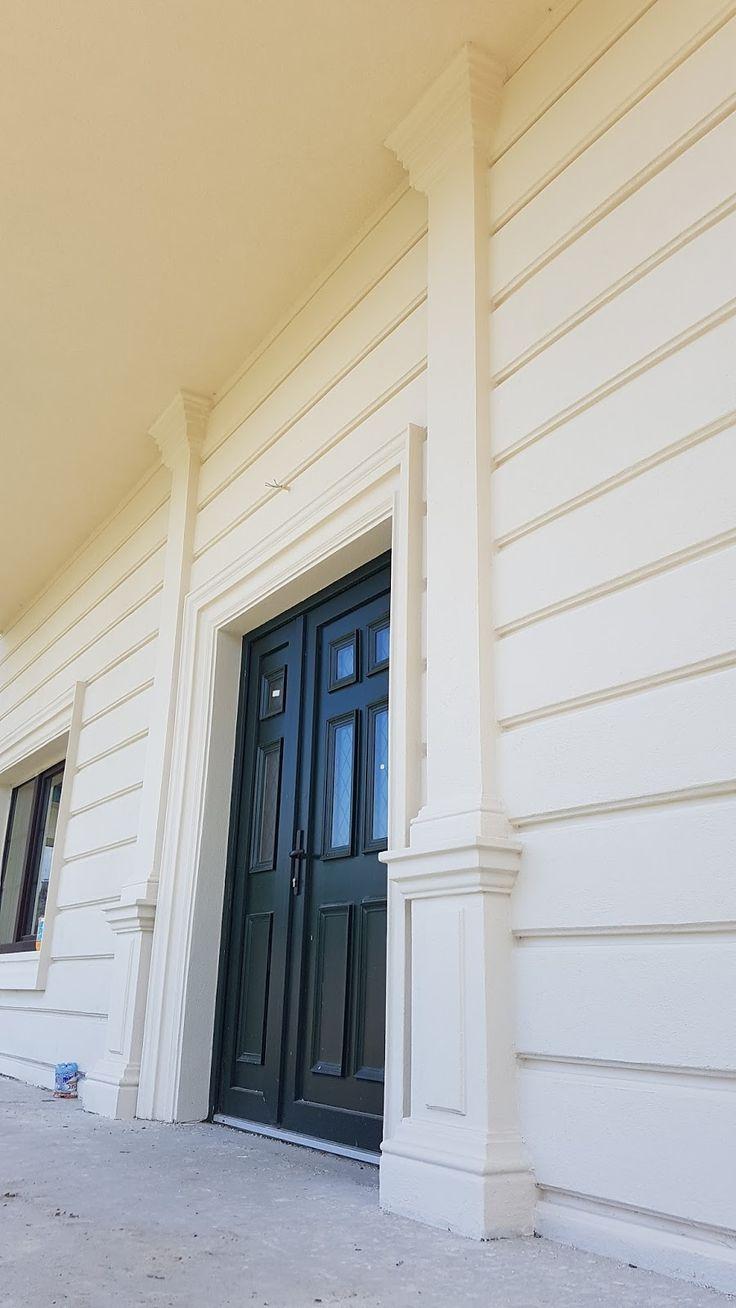 Ancadrament usa intrare cu coloane patrate decorative CoArtCo