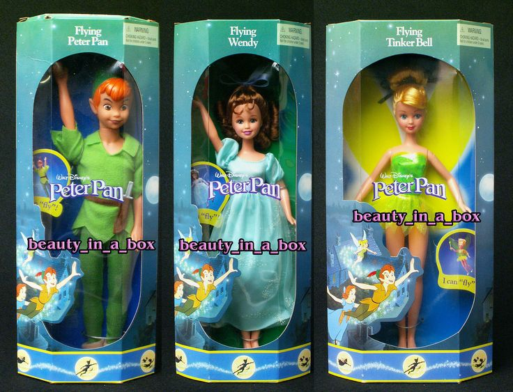ПОЛЕТ ПИТЕРА ПЭНА ВЕНДИ ДИНЬ ДИНЬ Disney КУКЛА ЛОТ 3 | eBay