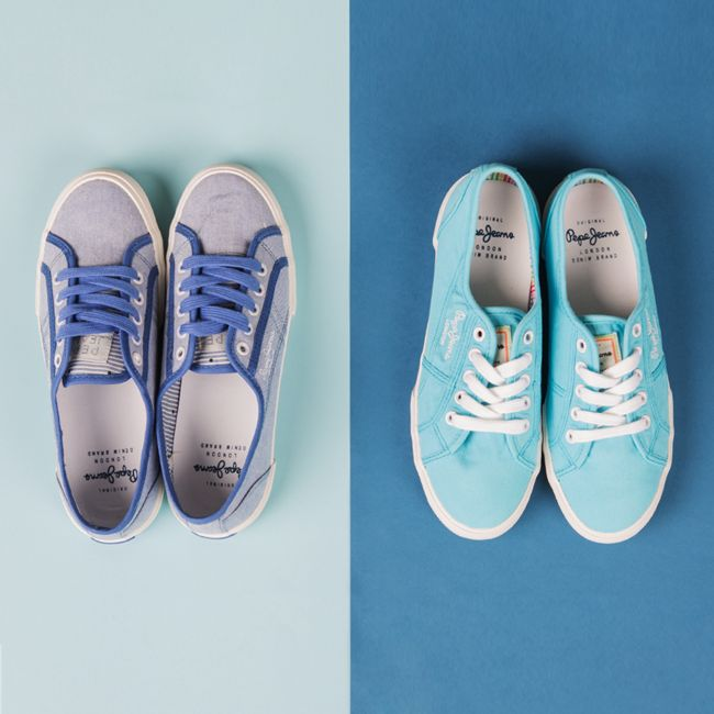 #butypl #ss15 #spring #summer #springsummer15 #shoes #newarrivals #newproduct #onlinestore #online #womencollection #women #trampki #pepejeans #trainers #aberlady #blue #acqua #lighttwell