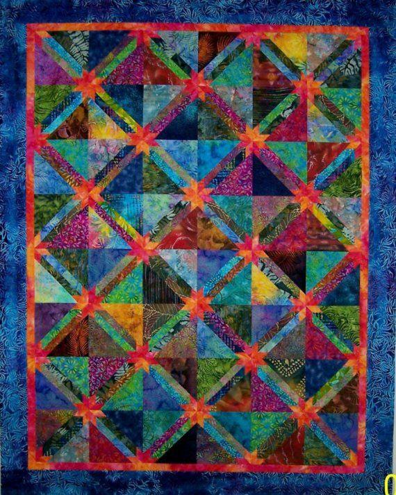 Best 25+ Batik quilts ideas on Pinterest | Quilts, Stained glass ... : batik fabric quilt patterns - Adamdwight.com