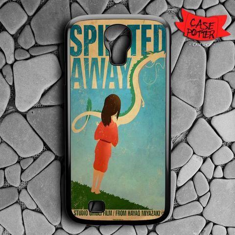 Spirited Away Poster Samsung Galaxy S4 Black Case