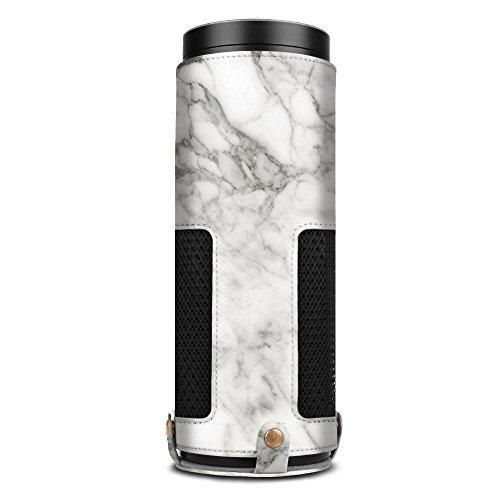 Fintie Protective Case for Amazon Echo - Premium Vegan Leather Cover Sleeve Skins Marble