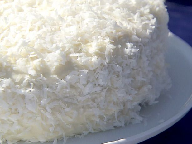 Ina Garten's Coconut Cake- try it just in case it's better than mine - you never know!