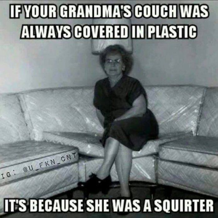 Grandmas couch covered in plastic - adult meme - http://jokideo.com/grandmas-couch-covered-in-plastic-adult-meme/