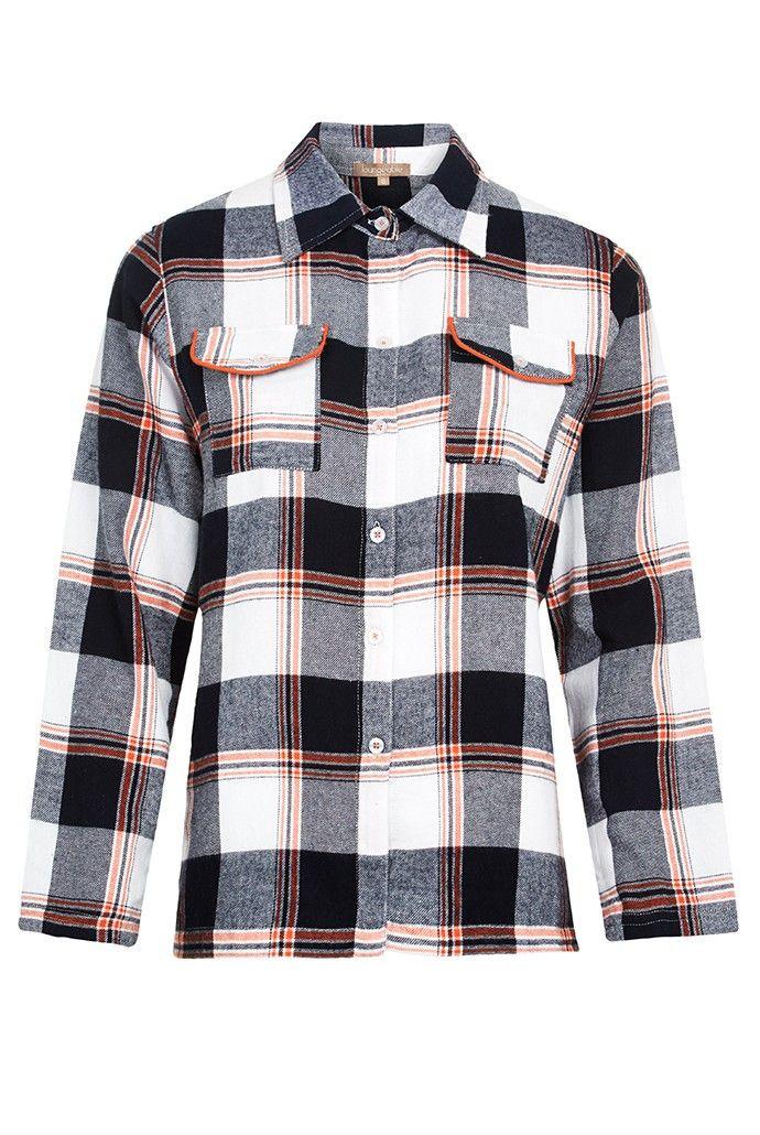 Flannel PJ Shirt