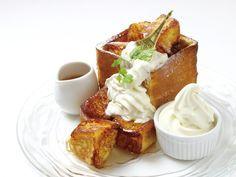 お台場のフレンチトースト専門店~角食パン丸ごと メープルシロップが染み込んだ、ふわふわ食感~|ことりっぷ