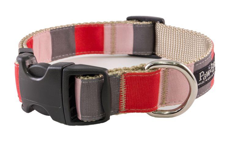 Paw Paws USA - Yorkshire Dog Collar - Yorkshire Block, $22.00 (http://pawpawsusa.com/yorkshire-dog-collar-yorkshire-block/)