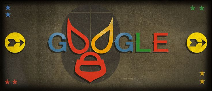 September 23, 2016 Rodolfo Guzmán Huerta (El Santo)'s 99th Birthday//this doodle does not work on the google site although it does work on the google search homepage.I will correct it if it begins to work on the website.