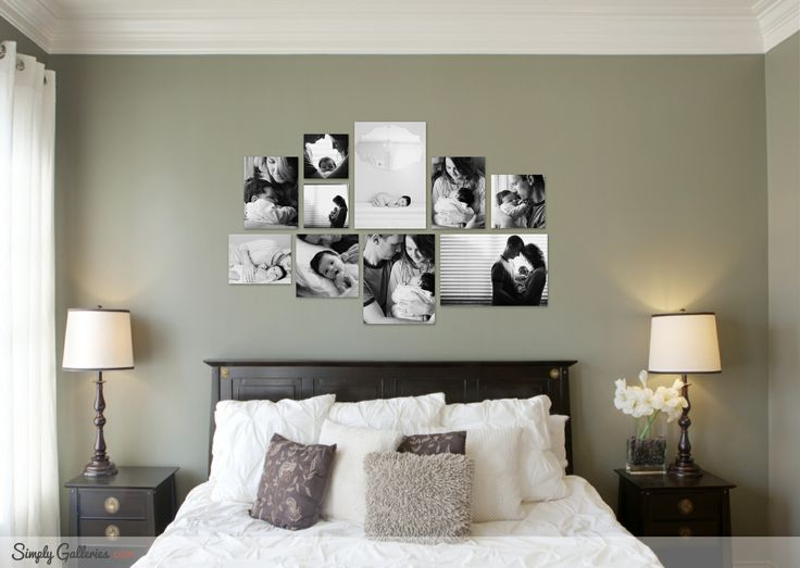 Canvas gallery layout idea from simplygalleries com