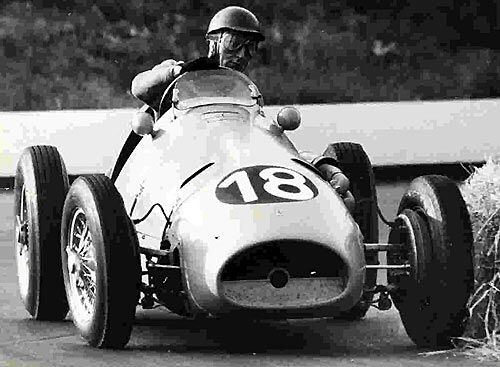 Jacques Swaters German GP  1953 finished 7th