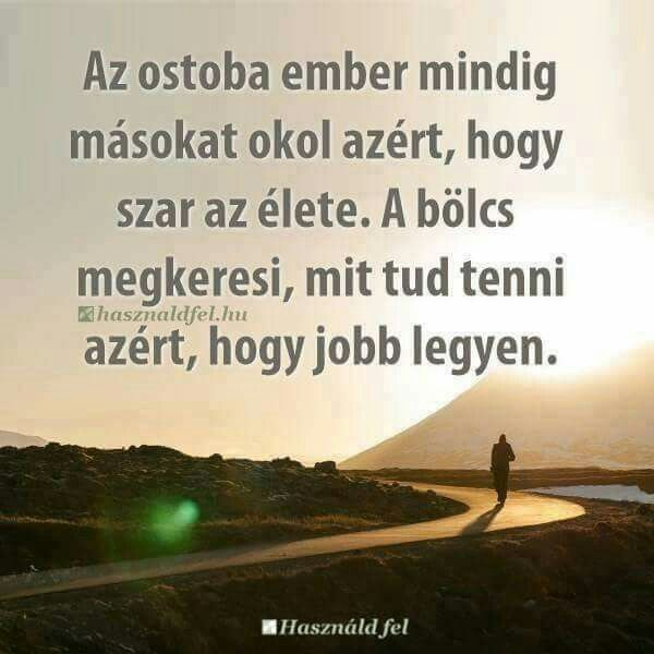 rövid bölcs idézetek Az ostobaés a bölcs♡ | Life quotes, Life, Motivation