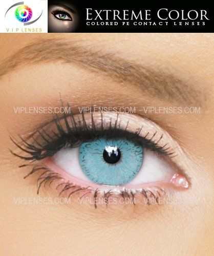 Extreme Seductive Blue Contact Lenses | VIP Lenses
