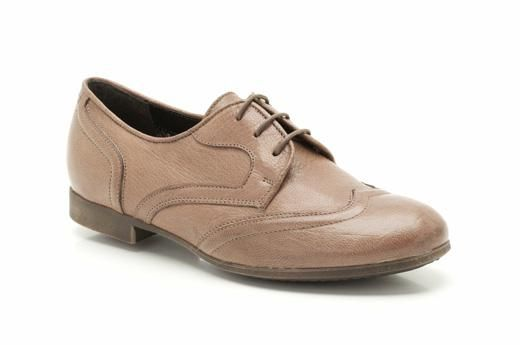 African Flame Tan Leather by Clarkes