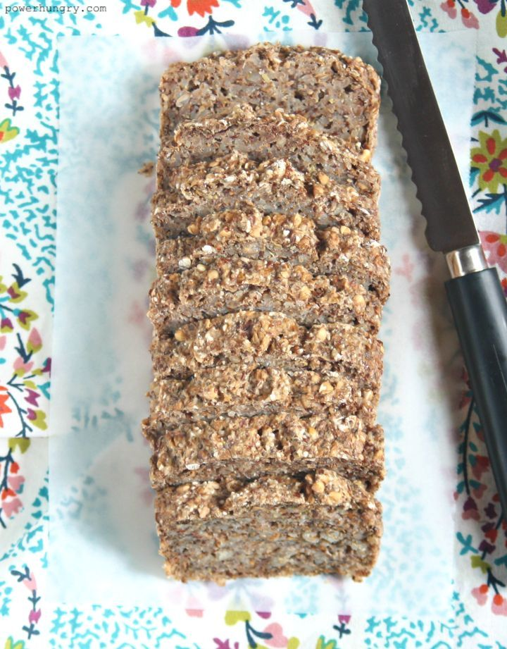 4 Ingredient Buckwheat Flax Chia Bread Vegan Oil Free Power Hungry Recipe Buckwheat Bread Food Buckwheat Recipes