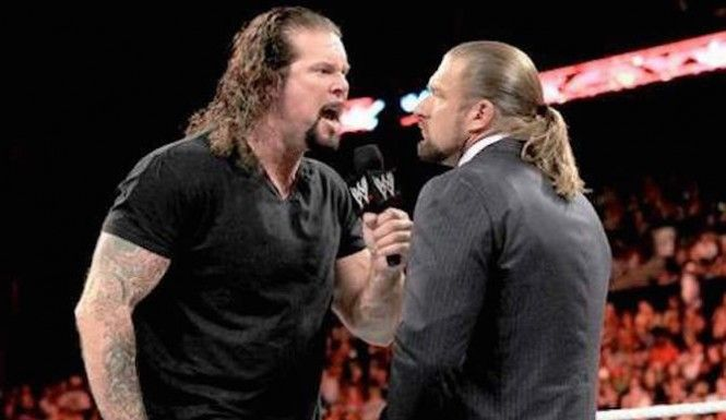 According to the Wrestling Observer Newsletter, Nash's suspension came from one of his former-Kliq brethren, Triple H.