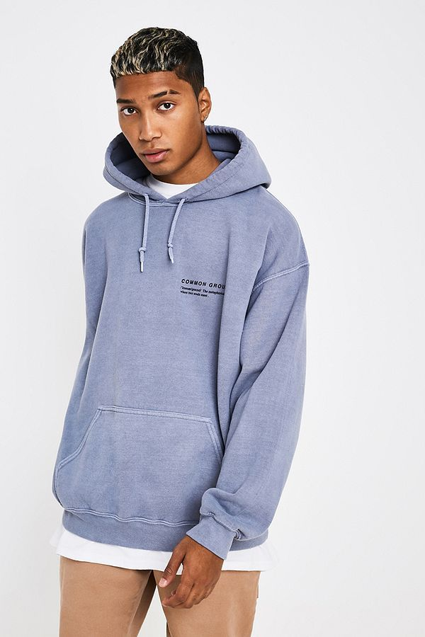 b17c41e1890 Slide View  2  UO Rare Breed Washed Grey Hoodie