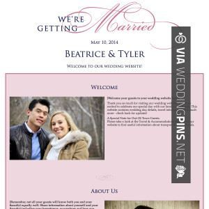 25+ best Wedding website examples ideas on Pinterest | Wedding ...