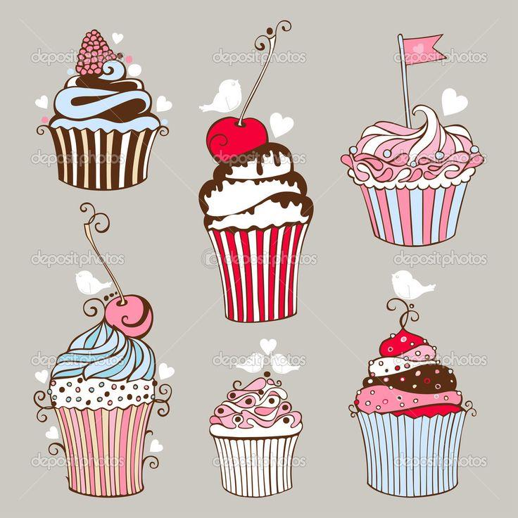 Image from http://st.depositphotos.com/1083268/3378/v/950/depositphotos_33782065-Decorative-hand-drawn-sweet-cupcakes.jpg.