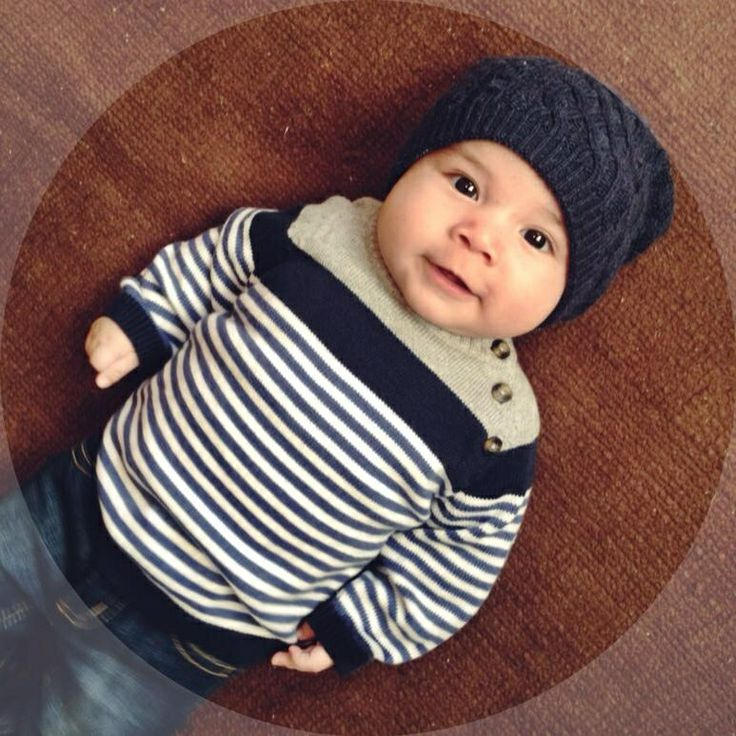 Baby beanies HM baby wear Baby boy fashion