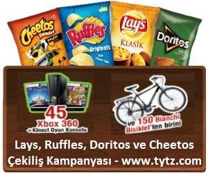 Lays, Ruffles, Doritos ve Cheetos Çekiliş Kampanyası - www.tytz.com  http://www.kampanya-tv.com/2013/04/lays-ruffles-doritos-ve-cheetos-cekilis.html