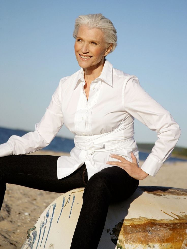 30 Best Maye Musk Images On Pinterest White Hair Grey