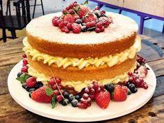 PAP - como fazer um Naked Cake ou Bolo Rústico / Bolo Pelado   Creative: