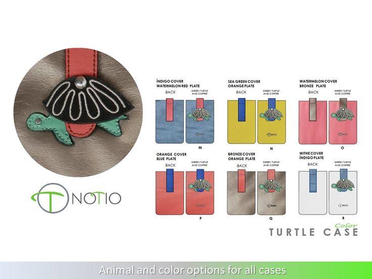 Notio accesorio para tecnologia, propuesta color - Linea Tortuga