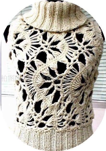Magnolica: crochet horquilla