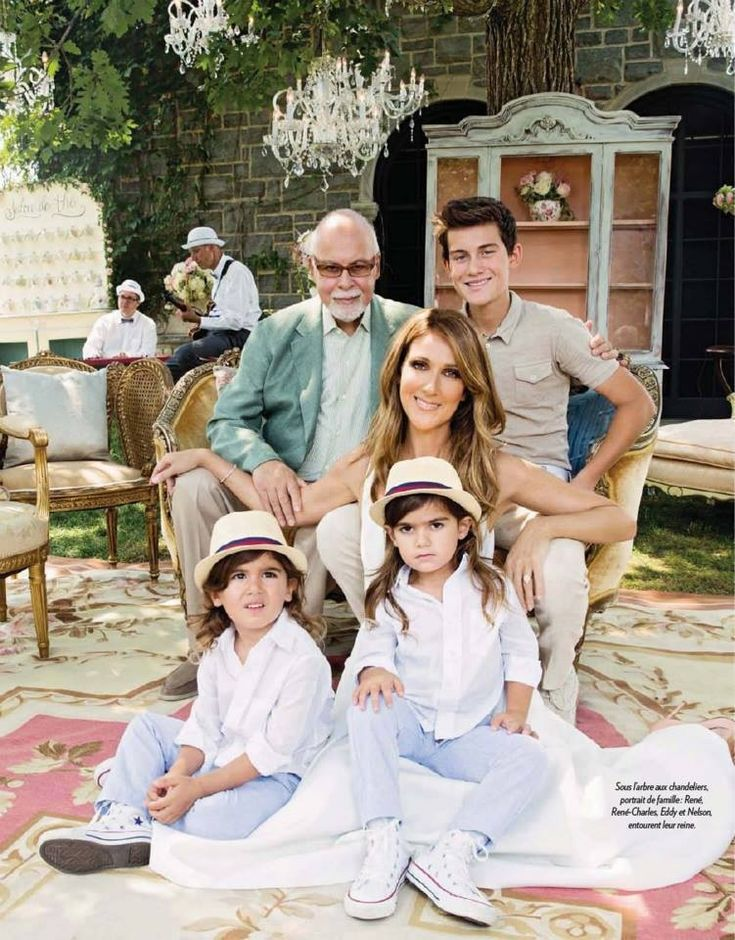 Cline Dion & family♥