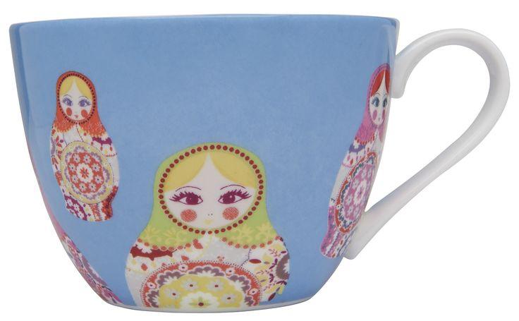 Russian Doll tea cup