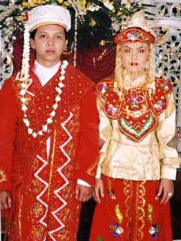 Betawi, Jakarta Wedding Costume (Indonesia)