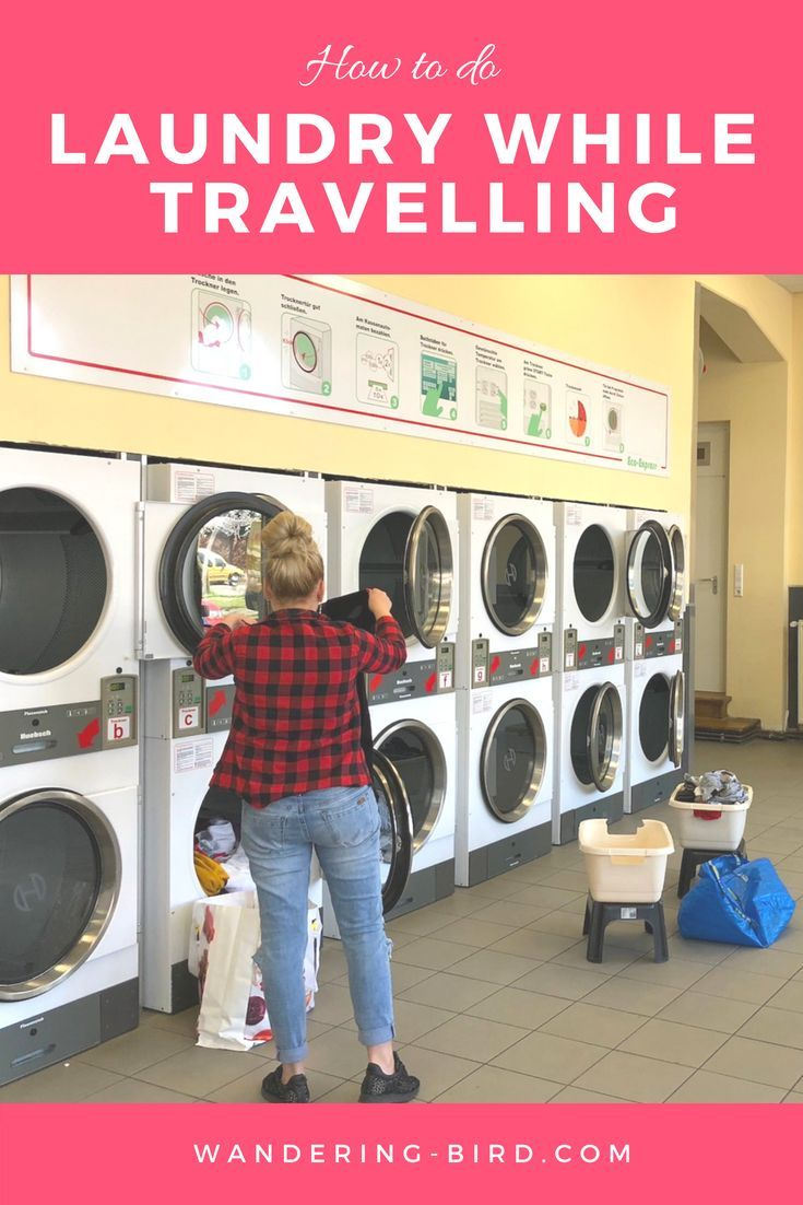 How To Wash Laundry While Travelling Traveling By Yourself