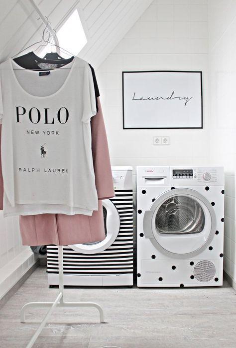 DIY - Pimp deine Waschmaschine mit Washitape und Klebepunkten