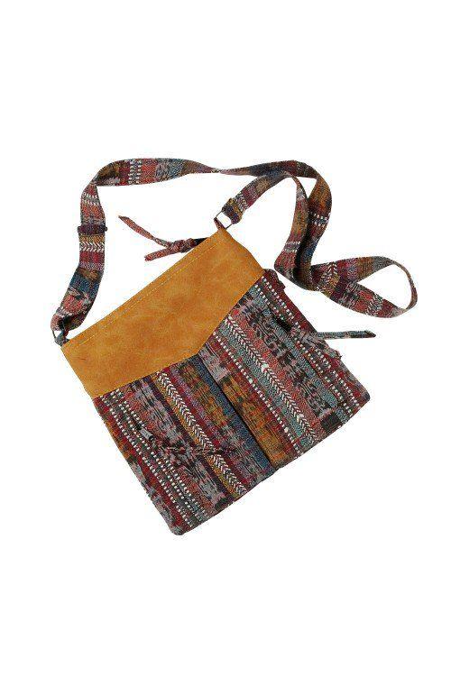 e46cfc68f150 Handmade in Guatemala    fair trade fashion    shoulder bag    recycled  fabric    vegan leather    summer bags