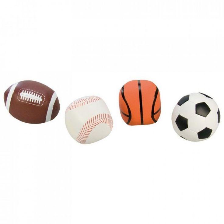 Puha, szivacs belsejű, műbőr labda. Amerikai focilabda, focilabda, kosárlabda, valamint baseball labda is található. Kérjük, hogy megrendeléskor a megjegyzés rovatba mindenképpen jelezze, hogy melyik fajtát szeretné. 2 éves kortól ajánljuk.