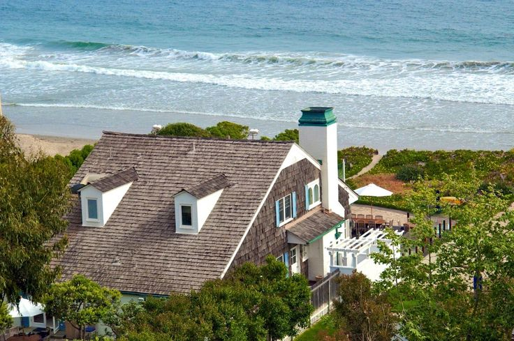 Cape Cod home on Broad Beach, Malibu.