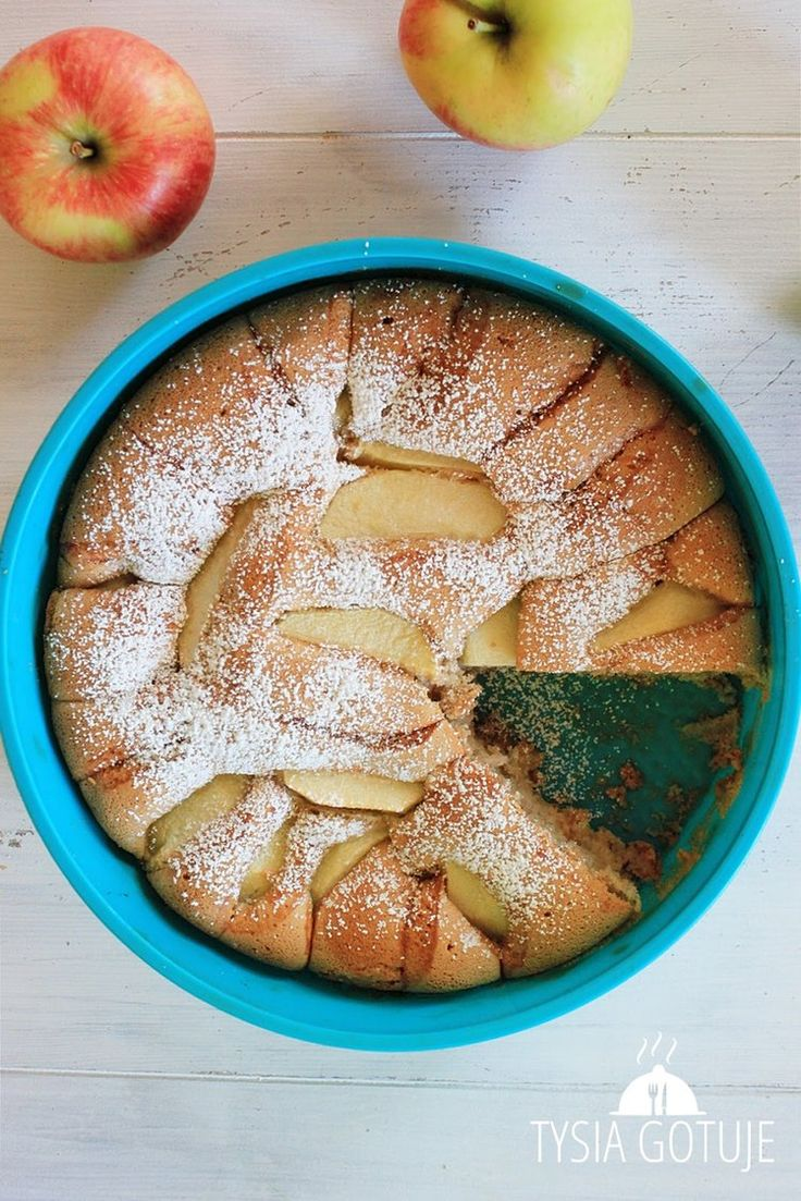 Ciasto z jabłkami w 5 minut