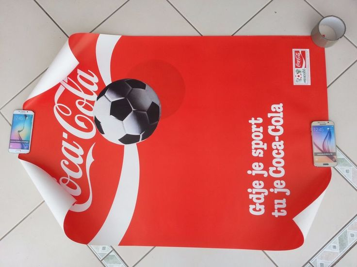 COCA COLA, COKE COMMUNIST YUGOSLAVIA EDITION  POSTER SOCCER WORLD CUP MEXICO 86  | eBay
