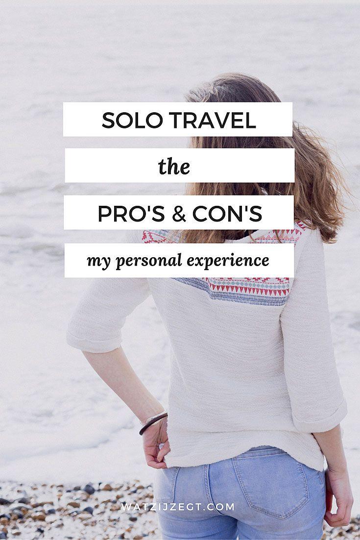 De voor- en nadelen van alleen reizen