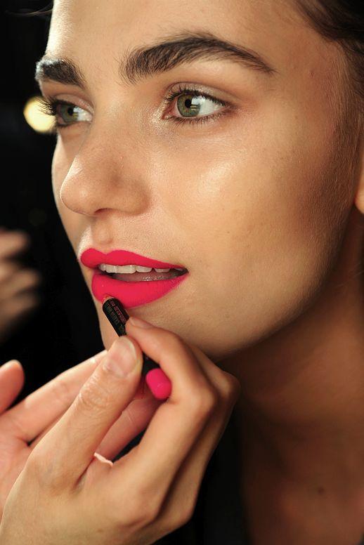 Diane Von Furstenberg: Lips Color, Makeup, Lip Colors, Matte Lips, Beauty, Pink Lipsticks,  Lips Rouge, Bright Lips, Lips Colour
