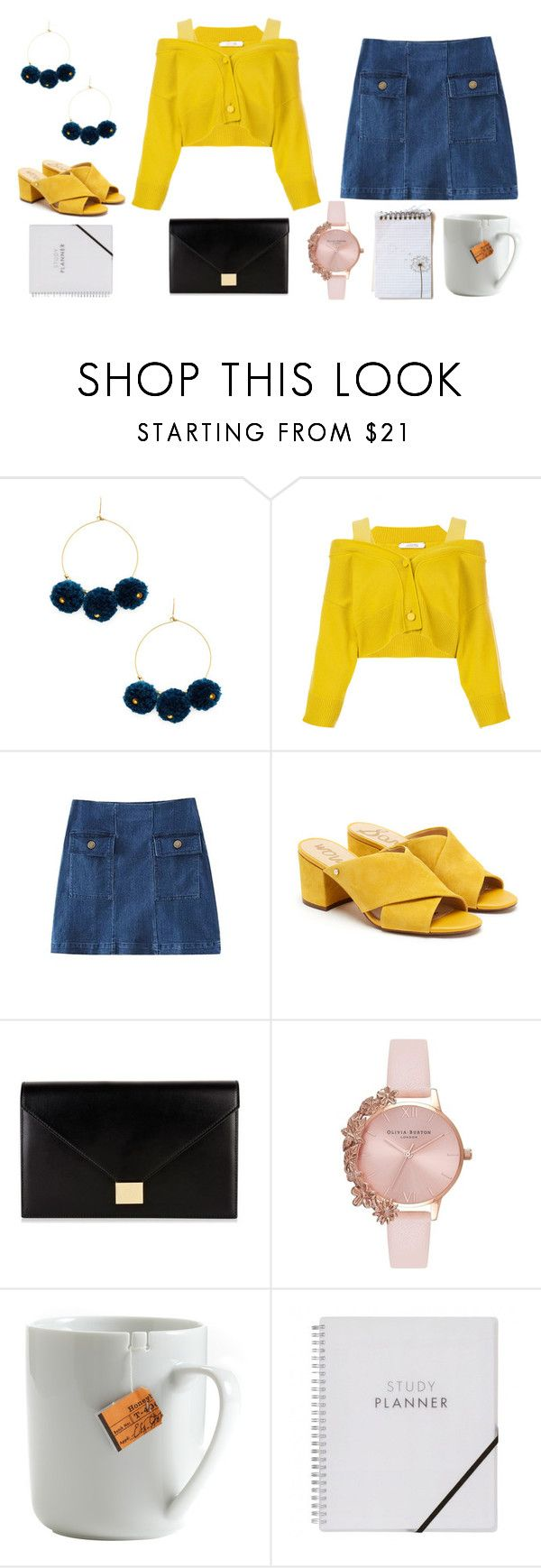 """""""People write songs about girls like you"""" by tipsymermaid ❤ liked on Polyvore featuring Chan Luu, Dorothee Schumacher, Sam Edelman, Victoria Beckham, Olivia Burton and le mouton noir & co."""