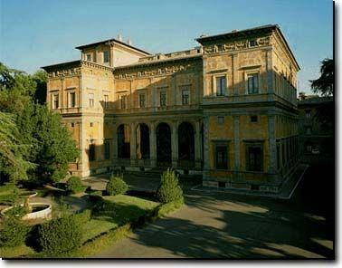 Baldassarre Peruzzi. Garden Facade, Villa Farnesina. Rome. 1509-11 #architecture