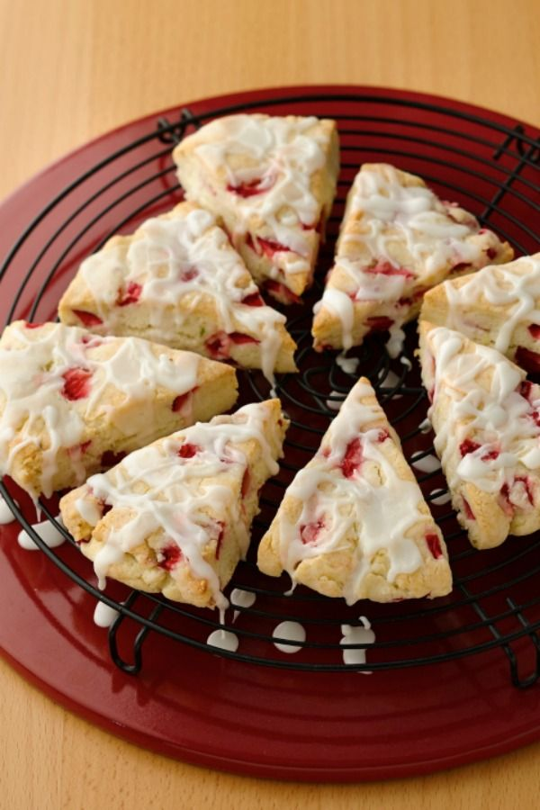 Gluten-Free Strawberry Lime Scones are perfect for Spring!