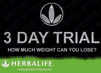 Have you ever wondered about Herbalife? Are you ready to be a healthier you? Here is your chance to try the shakes that have changed my life. We will celebrate together what you have accomplished after just 3 days!
